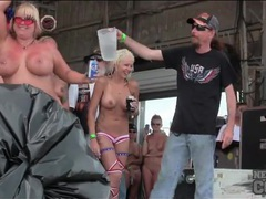 Naked redneck chicks dance and get wet on stage movies at sgirls.net