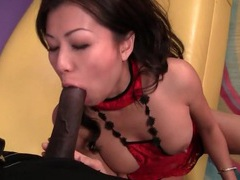 Cock riding and doggystyle fuck of japanese girl tubes at japanese.sgirls.net