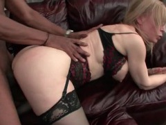 Nina hartley interracial anal sex with big cock guy videos