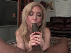 Nina hartley gives blowjob to big black cock movies at find-best-lingerie.com