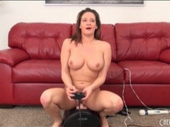 Pornstar tory lane rides a sybian videos
