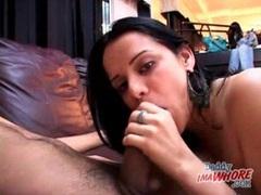 Close up cocksucking from cute latina girl videos