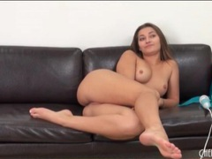Dani daniels masturbates her hairy pussy videos
