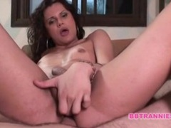 Pov bareback anal sex with hot transsexual tubes