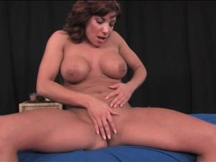 Fit milf puts on a solo striptease performance movies at find-best-mature.com