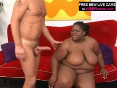 Black bbw sucks his dick and gets fucked videos