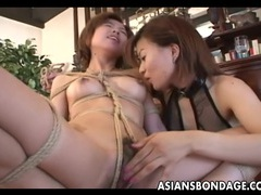 Dreamy japanese gal finger banged by her mistress tubes at lingerie-mania.com