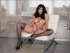 Skimpy leather vest on pornstar jelena jensen movies at sgirls.net