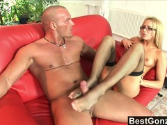 Cumming all over aleska's pretty feet movies at kilopills.com