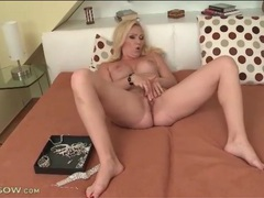 Big titty blonde milf masturbates her hot hole movies at kilopics.net