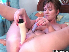 British grannies joy and becky love anal play videos