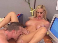 Hot body milf in glasses fucked on a desk movies at find-best-panties.com