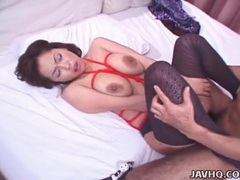 Curvy japanese girl in torn pantyhose fucked videos