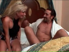 Hot foreplay and fucking with sexy blonde movies