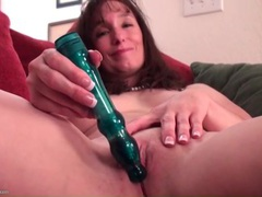 Sweet solo milf masturbates with a toy movies at freekiloporn.com
