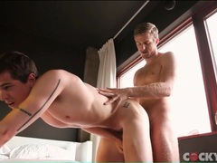 Two hard young men fuck ass in bed movies at sgirls.net