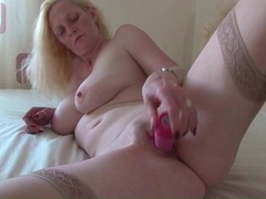 Beautiful body blonde milf fucks pink toy movies at find-best-videos.com