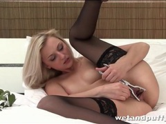 Young blonde beauty spreads her pussy lips open movies at find-best-ass.com