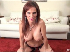 Sexy jennifer dark fondles her big fake tits videos