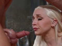 Stevie shae deepthroat blowjob with gagging movies at find-best-panties.com
