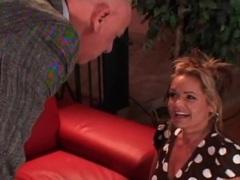 Slutty mom in polka dot dress sucks cock movies at find-best-lingerie.com