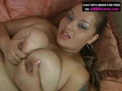 Sucking her latina bbw tits turns him on tubes