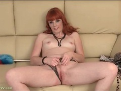 Yummy solo redhead finger bangs her vagina videos