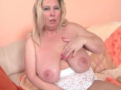 Mature bbw blonde in solo tease porn video movies at sgirls.net