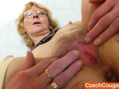 Blondie mother gapes and fucks her fuck hole movies at very-sexy.com