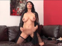Sheer black lingerie on pornstar tera patrick movies at lingerie-mania.com