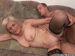 Grandma knows best how to drain your balls movies at sgirls.net