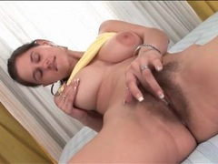 Cutie fondles her big tits and masturbates cunt movies at find-best-hardcore.com