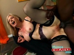 Nina hartley interracial sex with a black dick movies at lingerie-mania.com