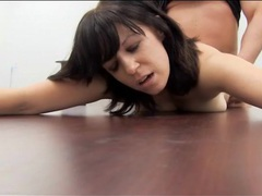 Cutie bent over a desk and fucked in the ass movies at kilopics.net