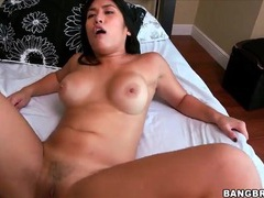 Latina grinds her hot cunt all over his dick videos