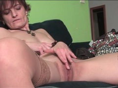 Cute milf gently rubs her beautiful pussy videos