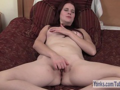 Sexy redhead sophia masturbating her twat videos