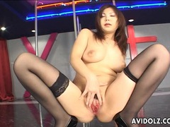 Asian babe with big tits masturbates tubes at chinese.sgirls.net