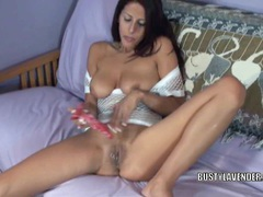 Busty slut lavender rayne is playing with her dildo videos