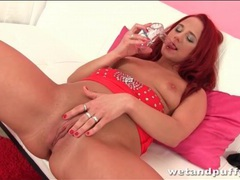 Redhead shoves a speculum in her pussy movies at find-best-mature.com