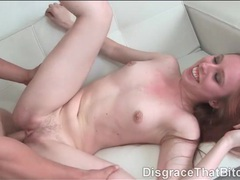 Young redhead beauty rides a dick lustily movies