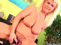 Grandma refuses to shave her hairy pussy movies at very-sexy.com