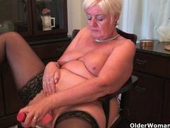 British grannies exposing their lickable fannies videos