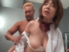 Cute japanese chick fucked from behind tubes at japanese.sgirls.net