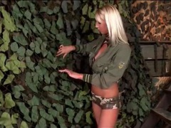 Blonde military girl sucks camouflaged cock movies at find-best-ass.com
