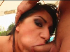 Outdoor threesome with deep anal fuck for slut movies at find-best-mature.com