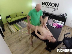 Teeny slut fucks her boss hard hoping not to get fired movies at find-best-panties.com