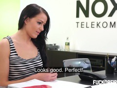 I made her cum three times in my office movies at dailyadult.info
