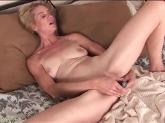 Cute mature is horny for sex with her dildo videos