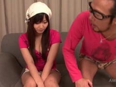 Sensually sucking perky titties of ryo asaka videos